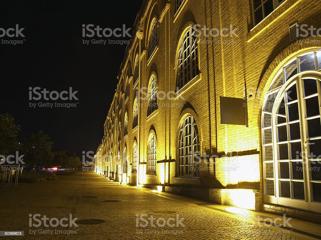 View from old factory in Aveiro, Portugal royalty-free stock photo