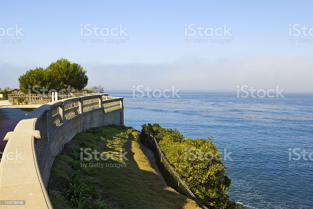 View from Rancho Palos Verdes royalty-free stock photo