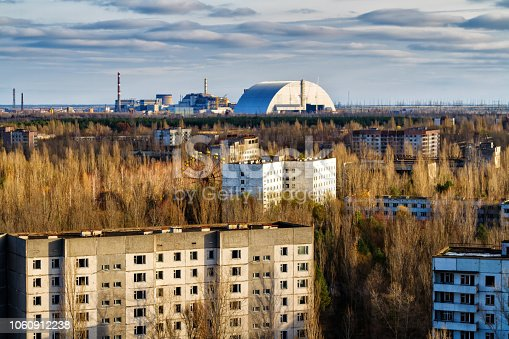 istock View from roof of 16-storied apartment house in Pripyat town, Chernobyl Nuclear Power Plant Zone of Alienation, Ukraine 1060912238