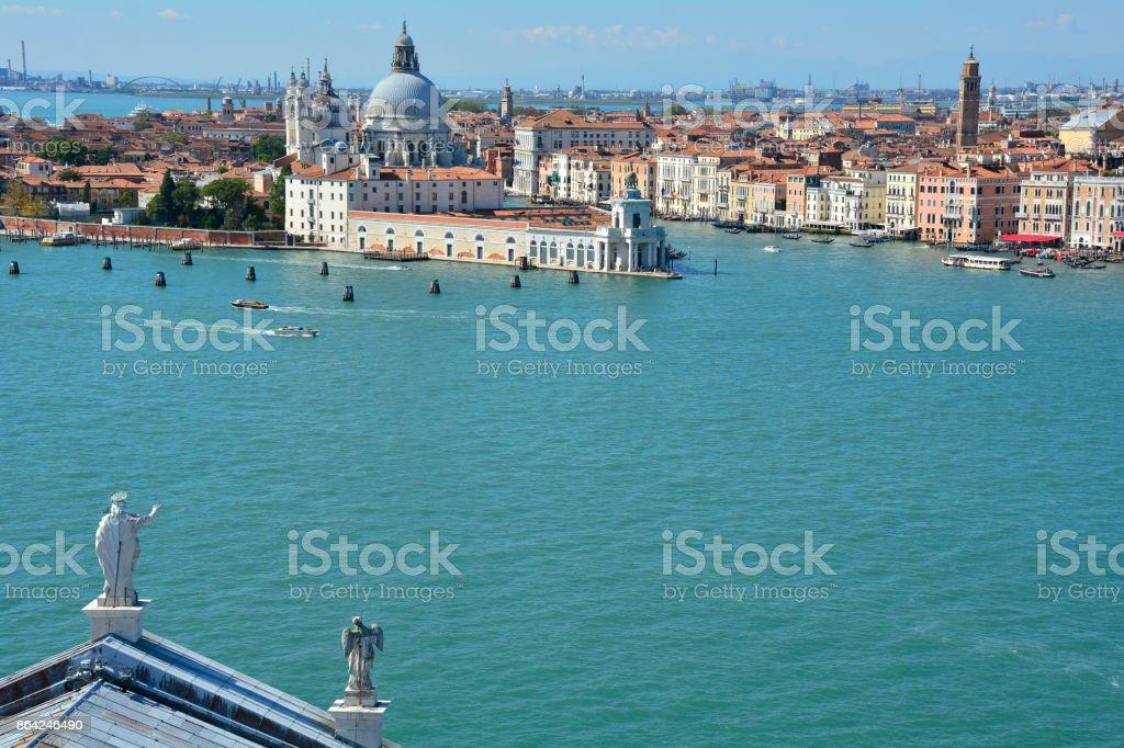View From San Giorgio Maggiore royalty-free stock photo
