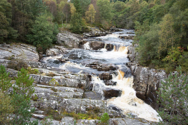 View from Silverbridge stock photo