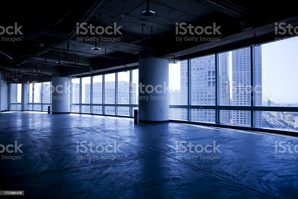 View from skyscraper royalty-free stock photo