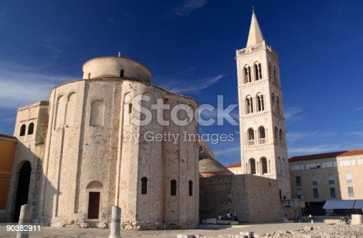 Church of St. Donat, 9th century, Byzantine Architecture, town of Zadar, Croatia, Adriatic Sea.