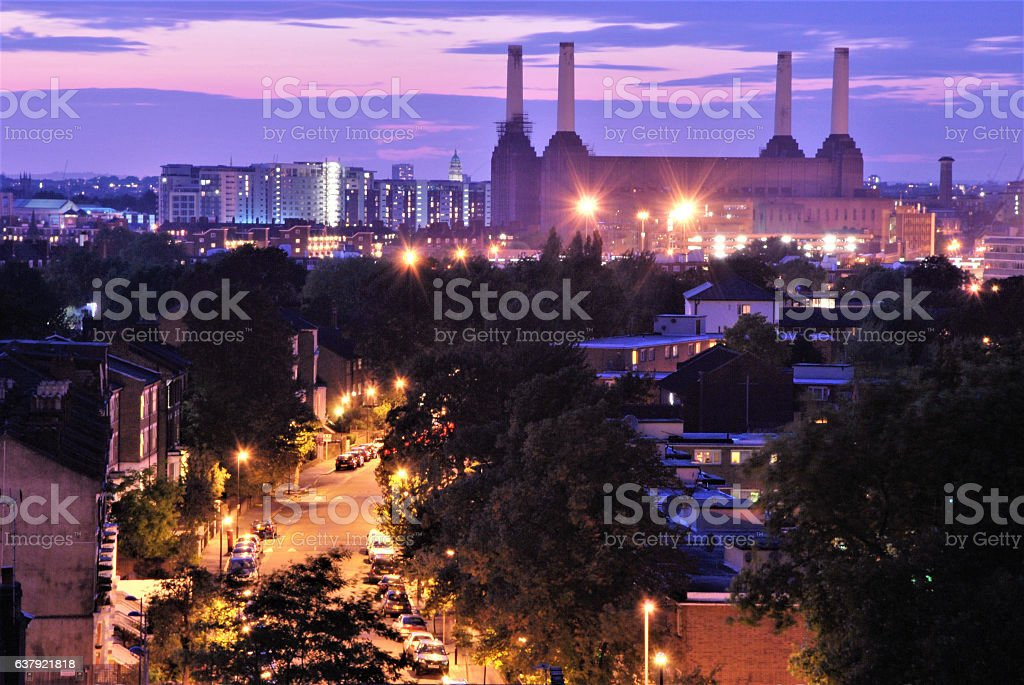 View from Stockwell stock photo