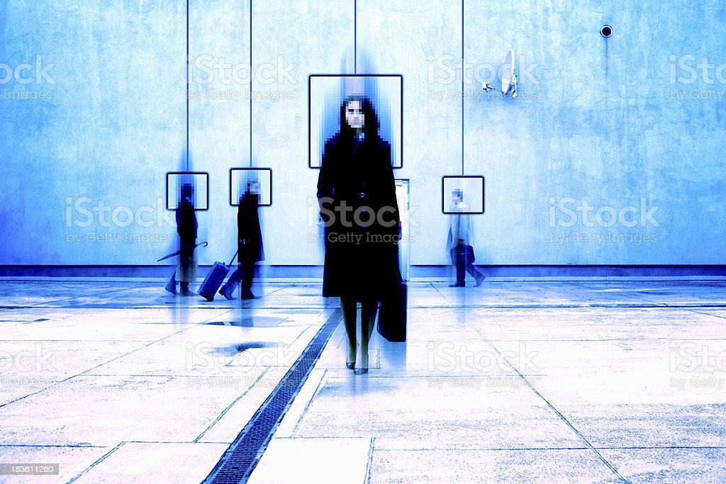 Vista de vigilância da câmera - foto de acervo