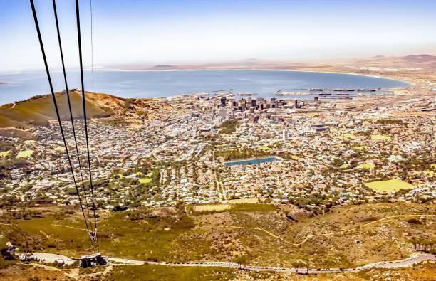 Blick vom Tafelberg, Kapstadt, Südafrika – Foto