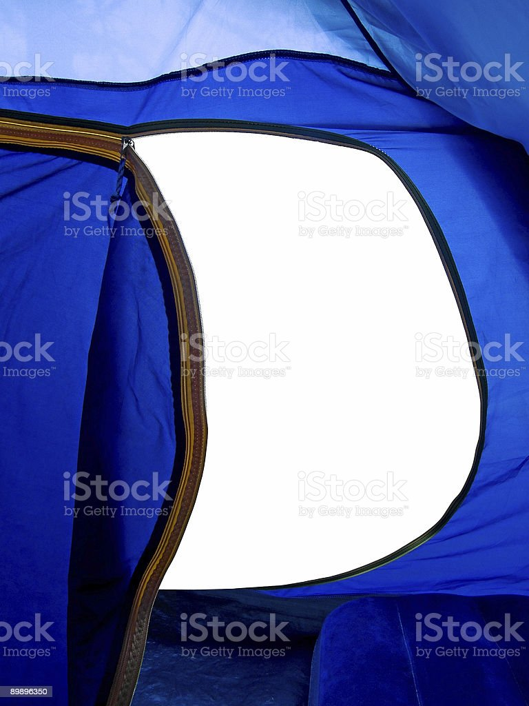 View from Tent royalty-free stock photo