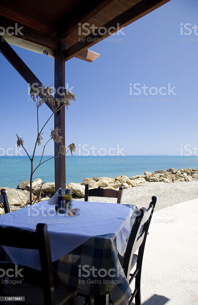 View from terrace royalty-free stock photo