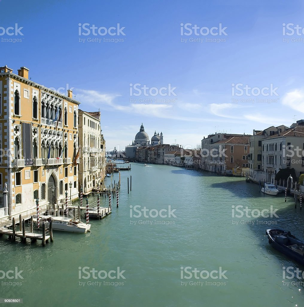 View from the bridge royalty-free stock photo