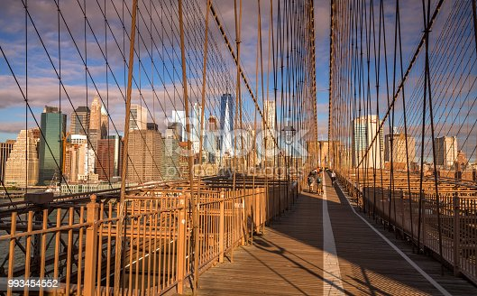 496266816 istock photo View from the Brooklyn Bridge 993454552