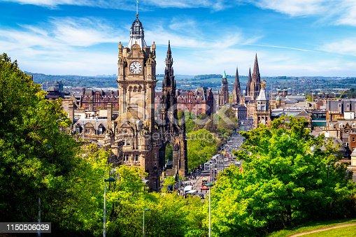 istock View from the Calton Hill on Princes Street in Edinburgh, Scotland, UK 1150506039