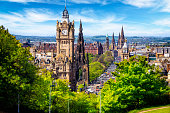 istock View from the Calton Hill on Princes Street in Edinburgh, Scotland, UK 1150506039