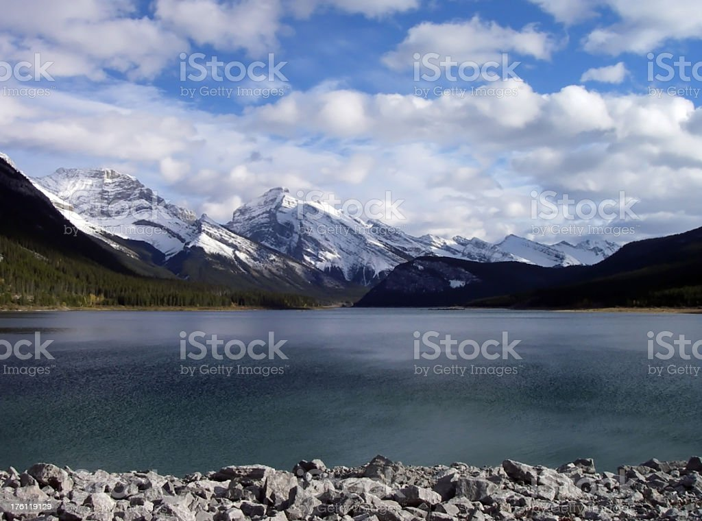 View From the Dam royalty-free stock photo