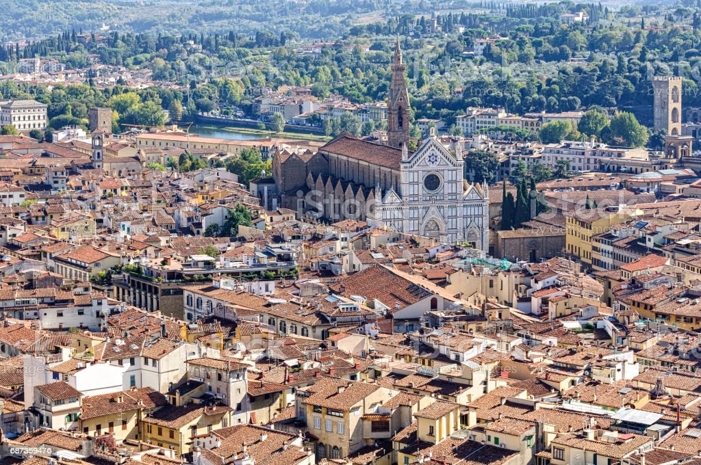 View from the Dome - Florence stock photo