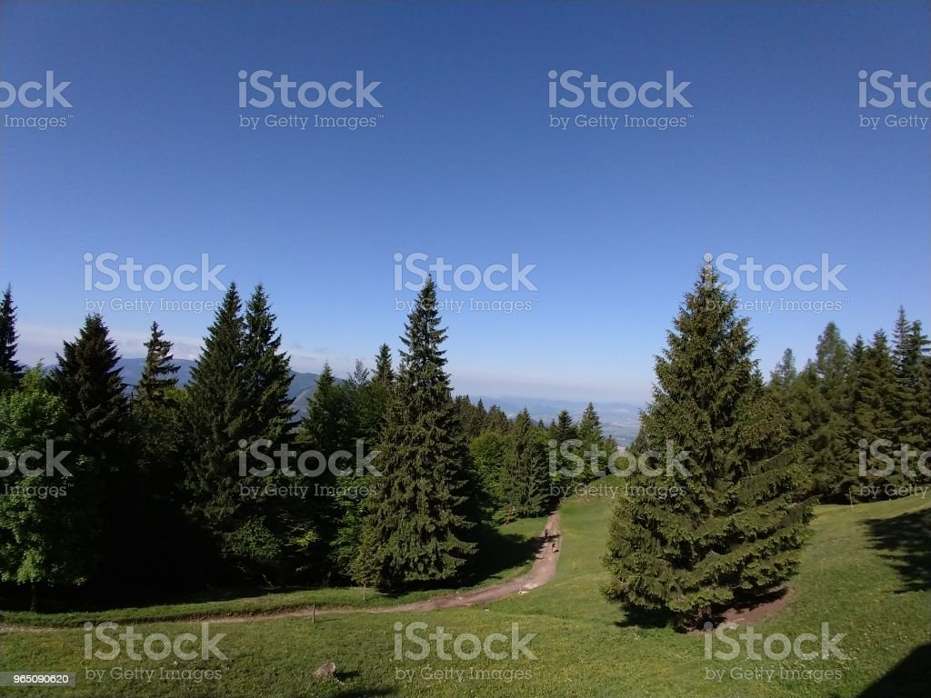 View from the hills. royalty-free stock photo