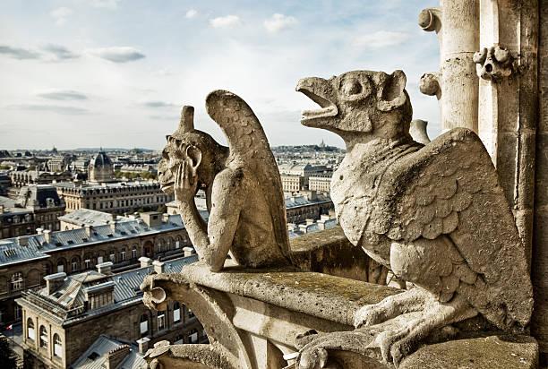 Blick von der Kathedrale Notre Dame, Paris – Foto