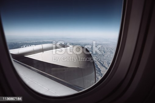 900763322 istock photo view from the porthole 1136867184