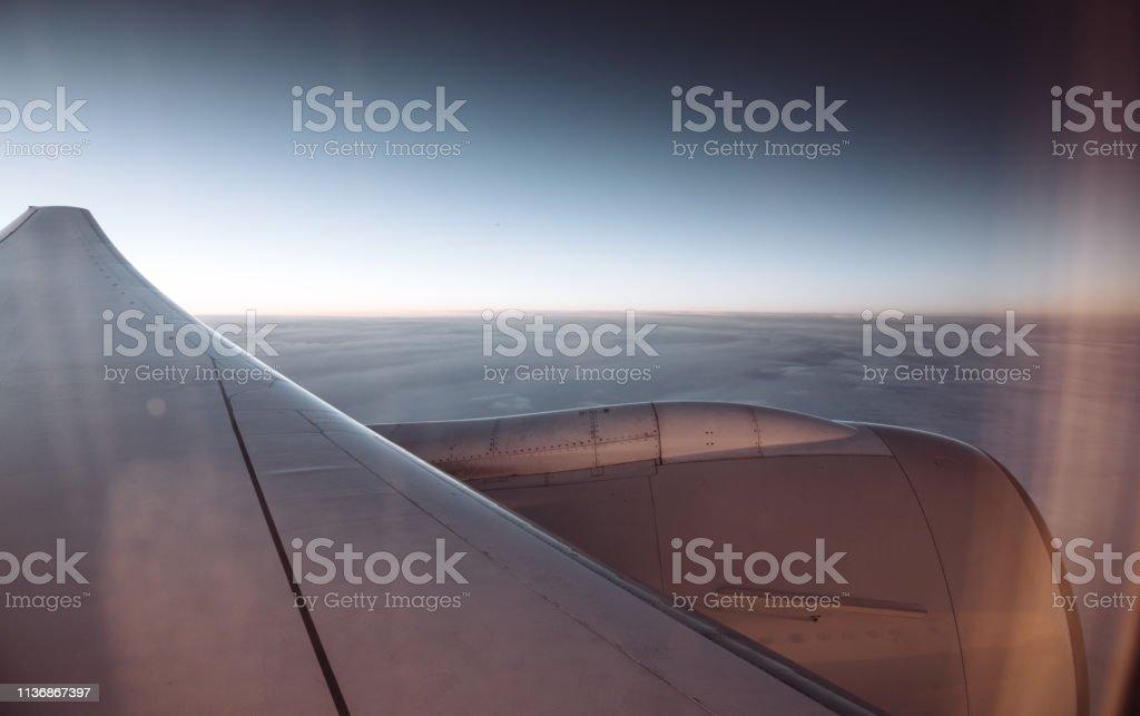 Blick aus dem Porthole – Foto