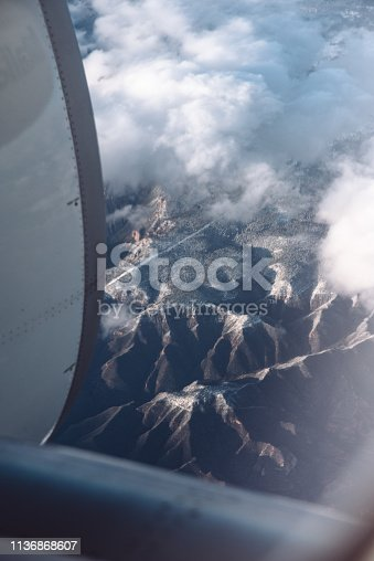 900763322 istock photo view from the porthole 1136868607