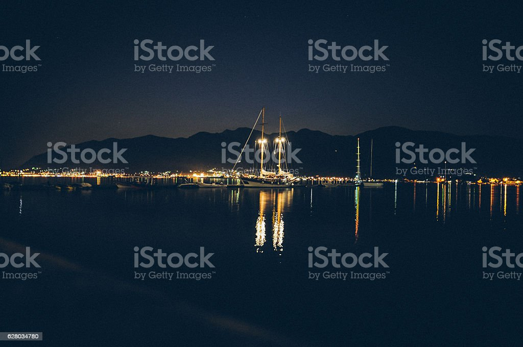View from the seaside stock photo