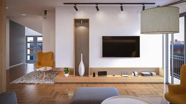 blick vom sofa - router stock-fotos und bilder