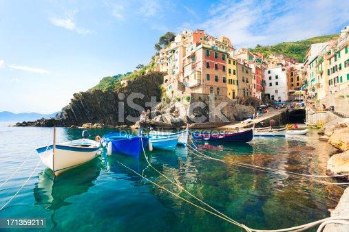 Riomaggiore, Cinque Terre (Liguria, Italy).