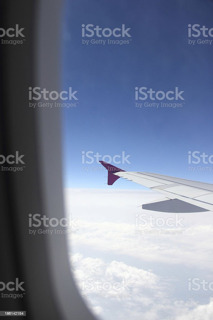 View from the window royalty-free stock photo