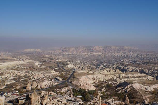 Blick von Schloss Uchisar – Foto