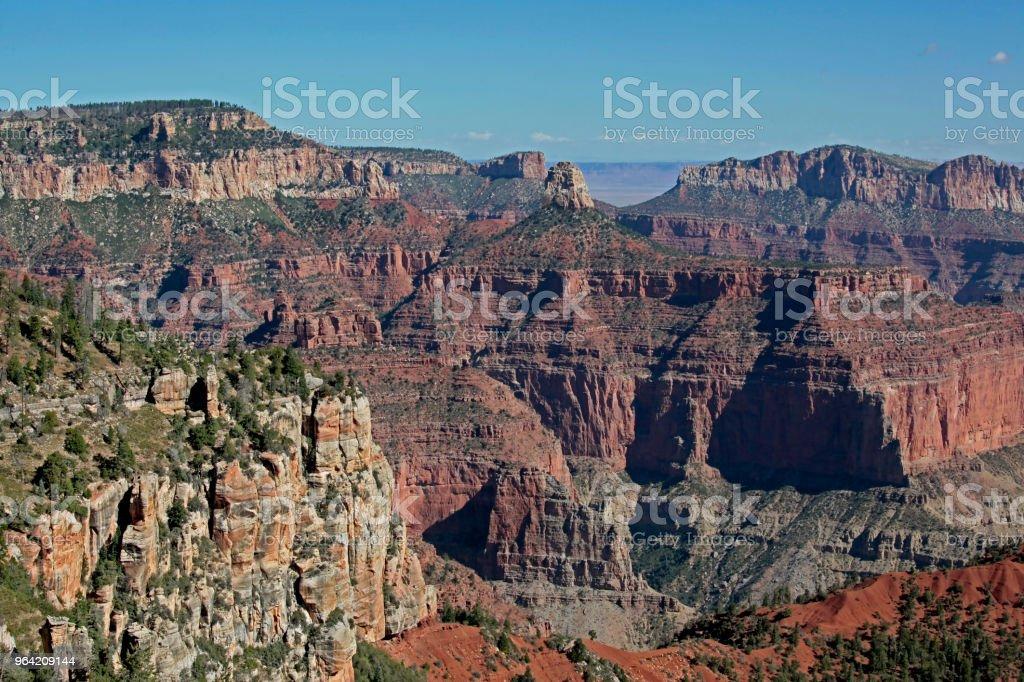View From Vista Encantada Grand Canyon National Park North Rim Arizona Stock Photo Download Image Now