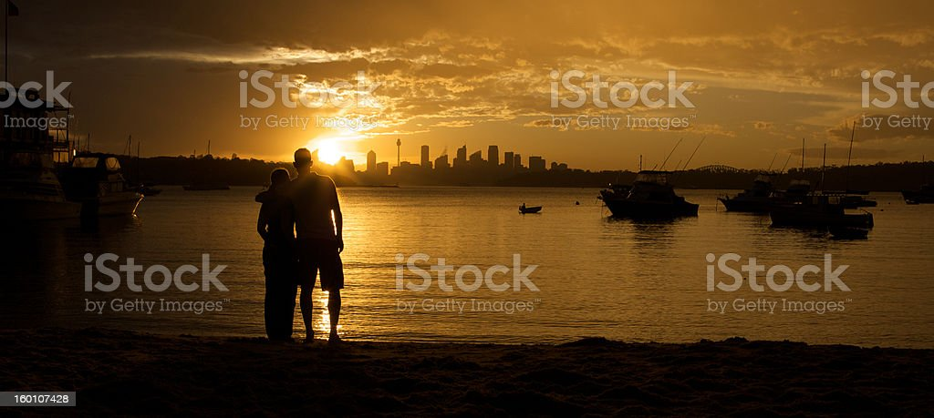 View from Watsons royalty-free stock photo
