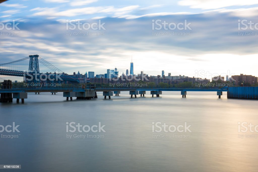 View From Williamsburg Brooklyn royalty-free stock photo