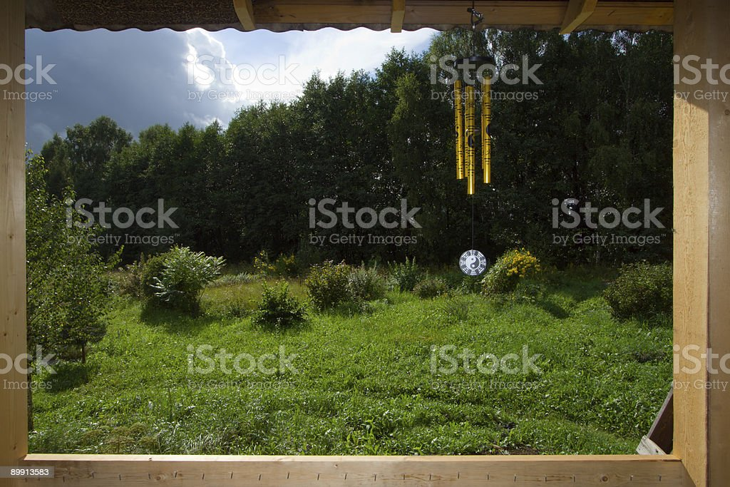 View from window royalty-free stock photo