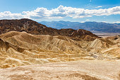 View from Zabriskie Point, Dath Valley National Park, California, United States.