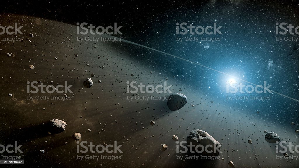 View image of Galaxy system isolated 3d rendering stock photo