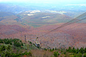 View in Autumn  season, A beautiful place of Hakkoda mountain,Aomori, Japan.