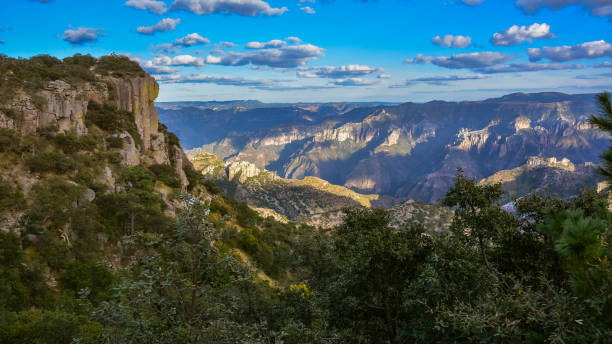 View in Copper Canyon stock photo