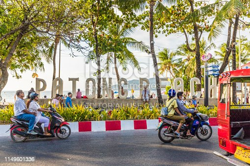istock A view in Patong Beach Thailand 1149601336