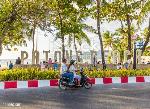 istock A view in Patong Beach Thailand 1149601351