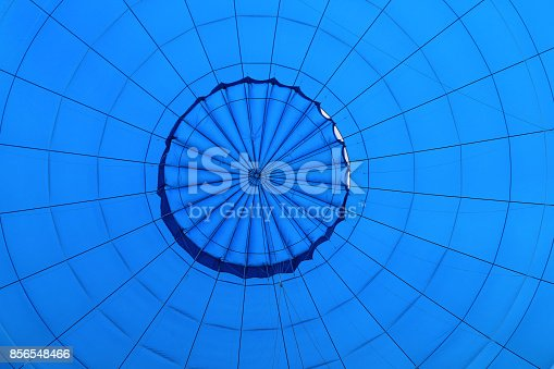 istock View inside a hot air balloon 856548466