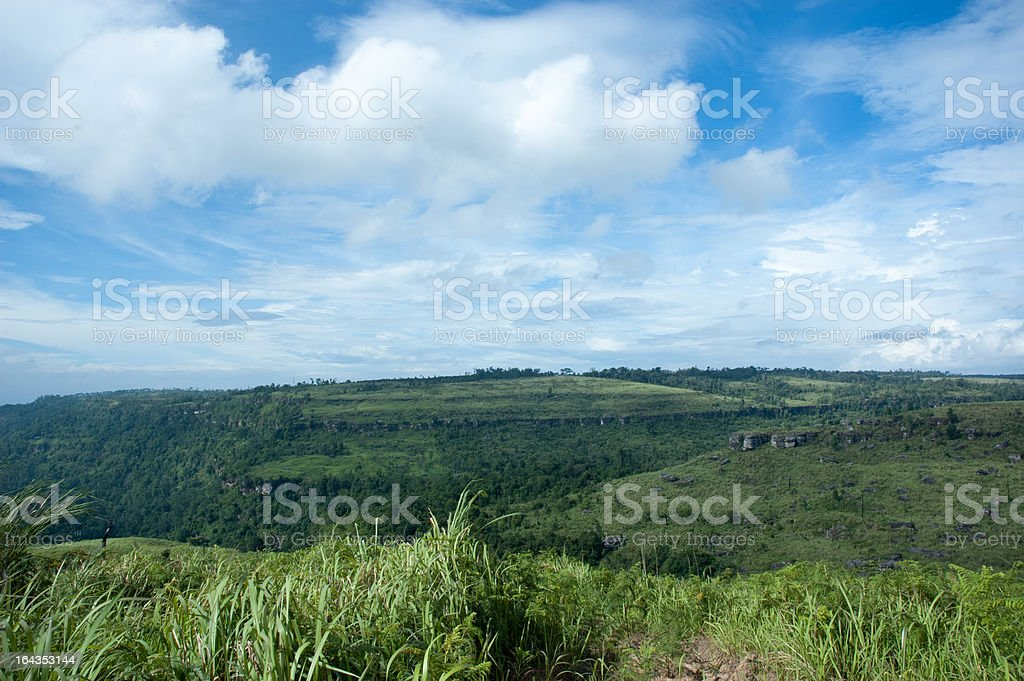 View  mountain landscape natural royalty-free stock photo