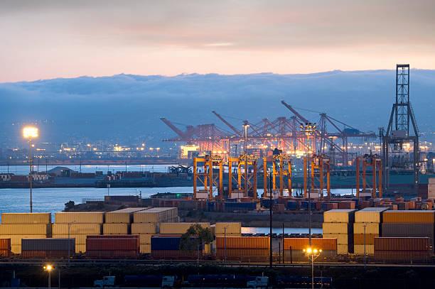 Cargo container Hafen – Foto