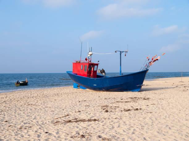 Blick auf ein Fischerboot – Foto