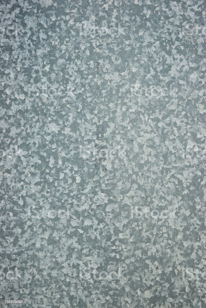 A view of a gray metal textured background. stock photo