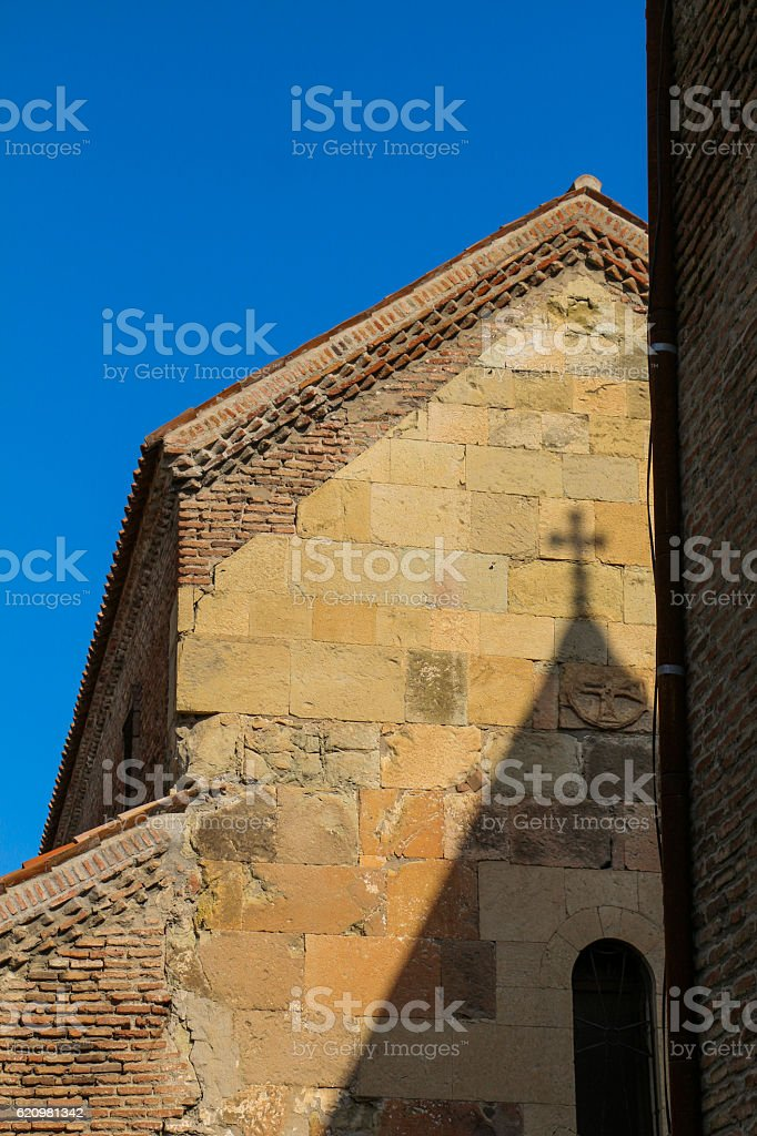 View of a historical  church in Tbilisi foto royalty-free