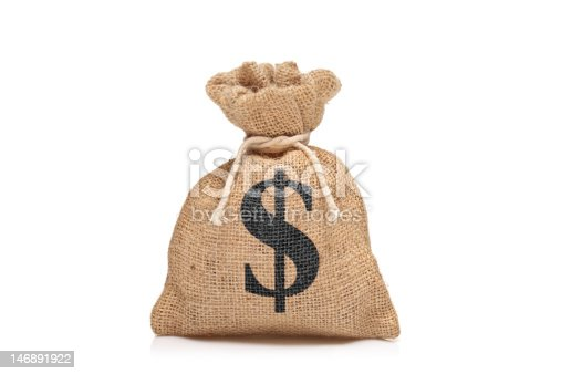 istock View of a money bag with US dollar sign 146891922