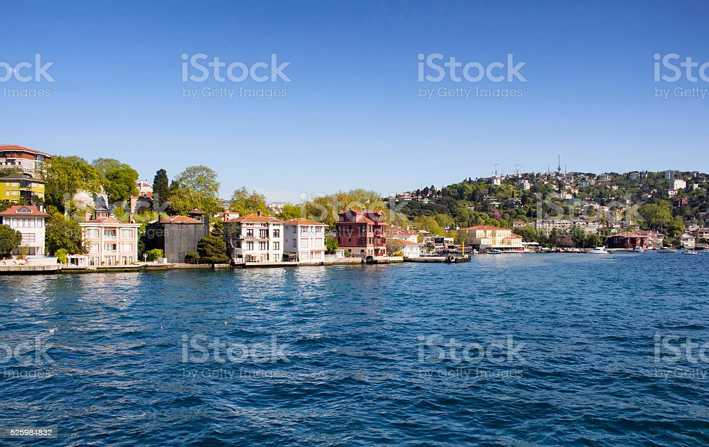 View of a neighbourhood on Asian side stock photo