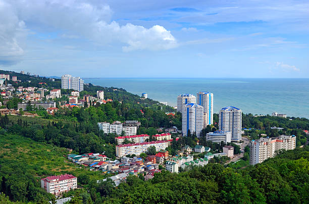 View of a Sochi  sochi stock pictures, royalty-free photos & images