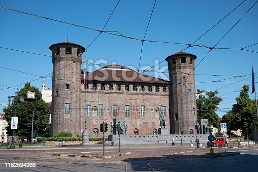 istock View of Acaja Castle, Residences of the Royal House of Savoy 1162594966
