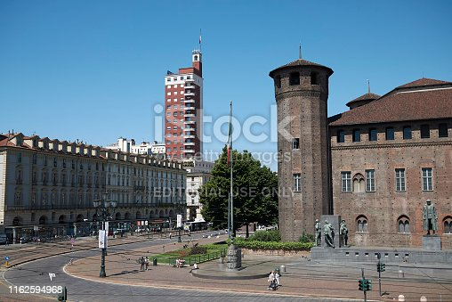 istock View of Acaja Castle, Residences of the Royal House of Savoy 1162594968
