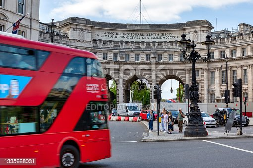 istock View of Admiralty Arch in London, United Kingdom 1335668031